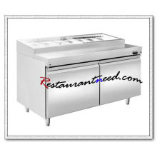 R309 1.2m 2 Portas Fancooling Pizza Prep Station